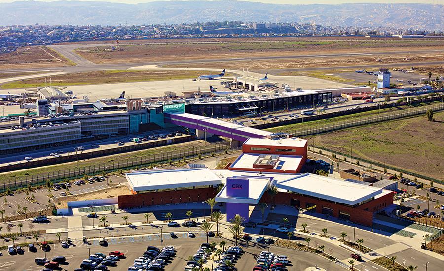 Award Of Merit Airport Port Otay Tijuana Cross Border