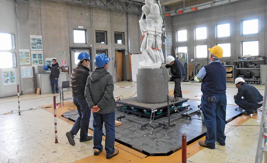 Best Specialty Construction - Retrofitting of  Michelangelo's La Pietà Rondanini