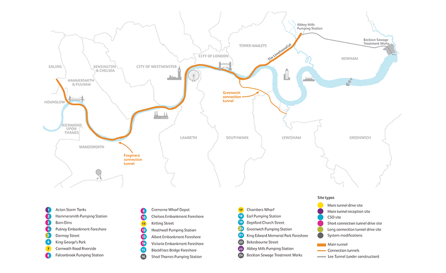 Thames Tideway Tunnel project