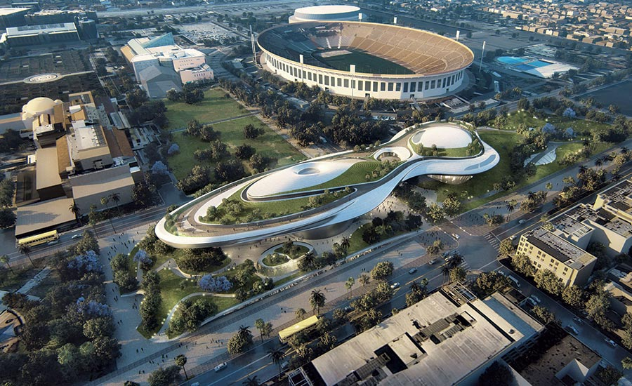 Los Angeles Lands Futuristic Lucas Narrative Arts Museum