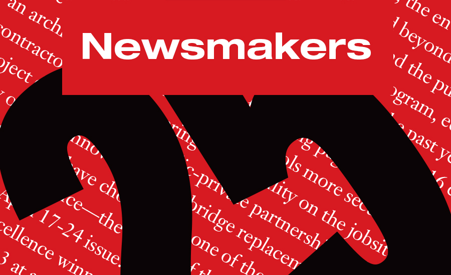 ENR 2016 Top 25 Newsmakers