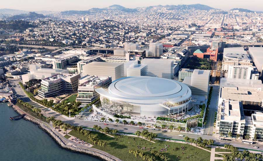 New Arena Planned in San Francisco for NBA's Golden State Warriors