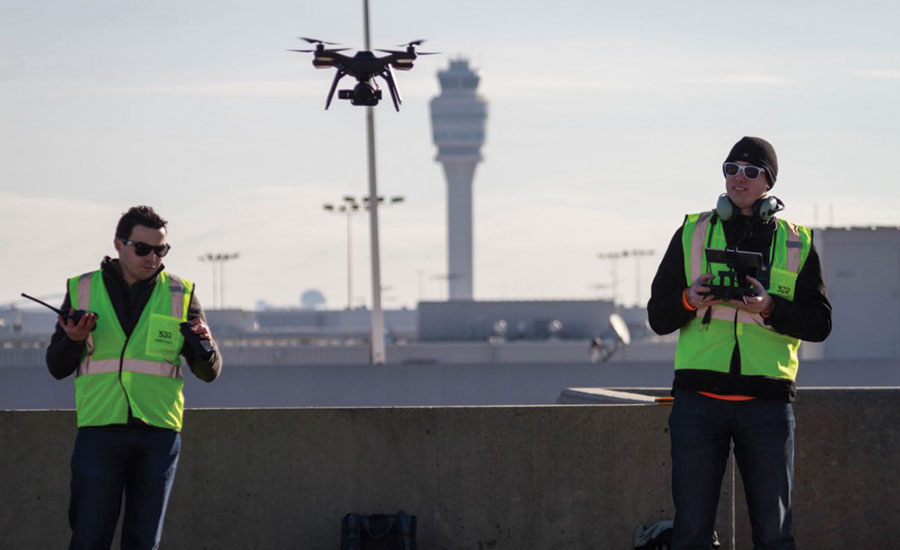 FAA Grants First Approval for Drone Flights Over Airfield