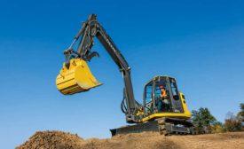 Deere 85G excavator