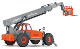 SJ1256 TH telehandler