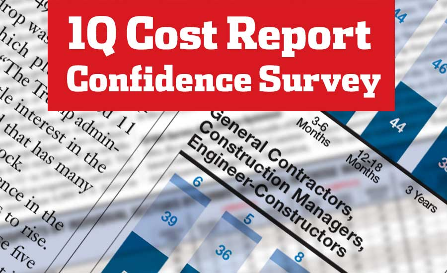 1Q Cost Report Confidence Survey