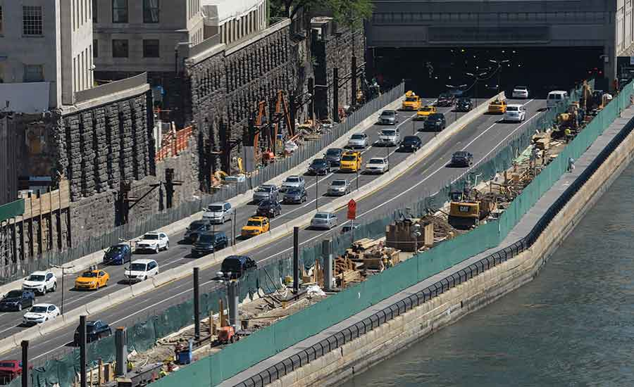 FDR Drive and the East River