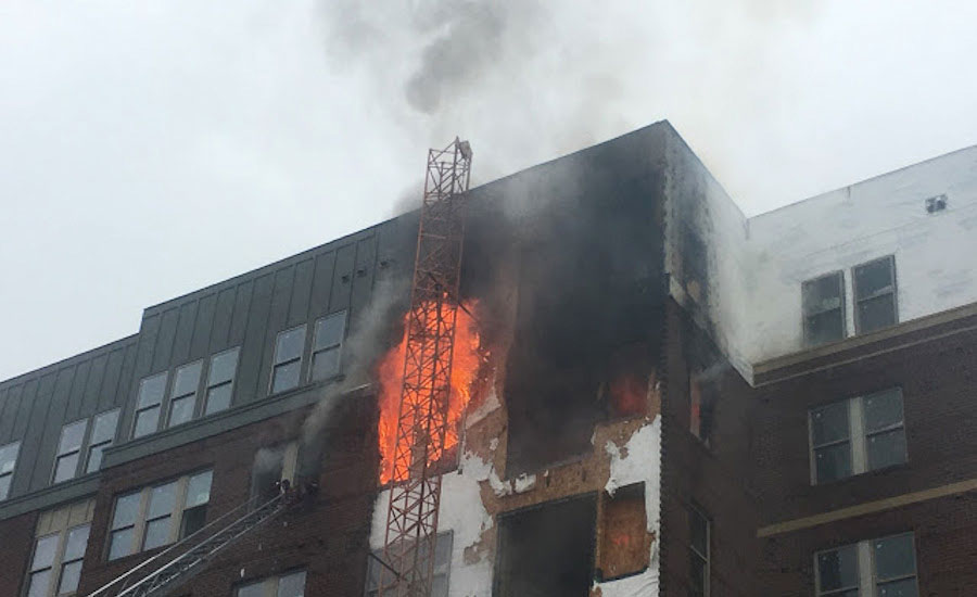 Five-Alarm Fire in College Park, Md. Renews Calls For New State Code Regulations