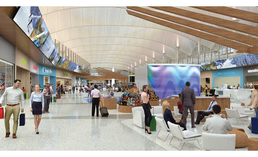 Denver Airport Officials Unveil Terminal Upgrade Plan