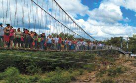 Arenales Suspension Bridge