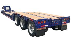 Roller Paver 55CC-RP heavy-haul trailer