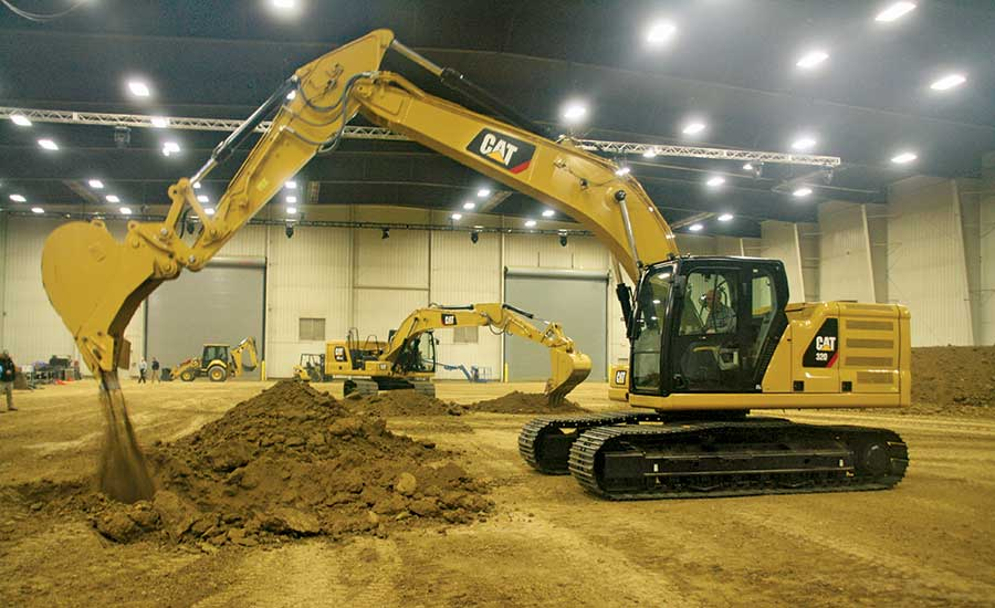 Cat Revamps Excavator Line With Grade Control Options 2017 11 22 Enr