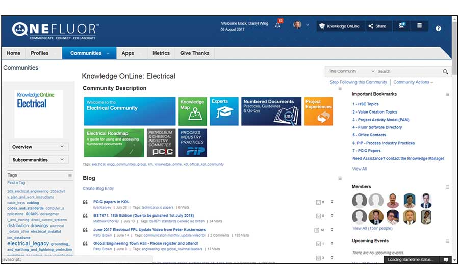 Staying Smart: Industry Firms Refine Knowledge Management to Build
