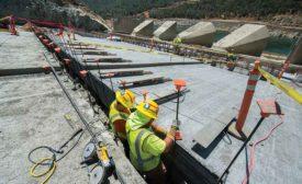 Spillway reconstruction