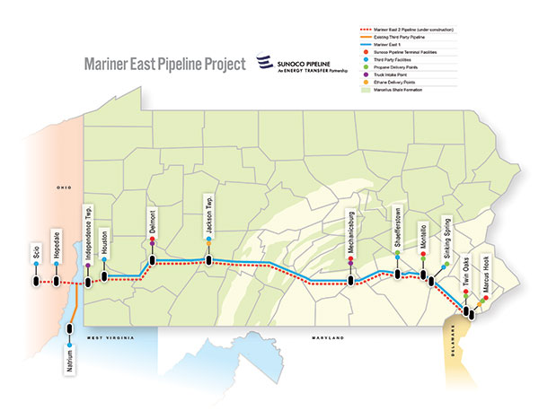 Mariner East Pipeline Project