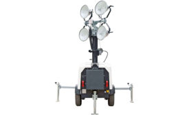 WCDE-4X15M-8KW-MHL towable light tower