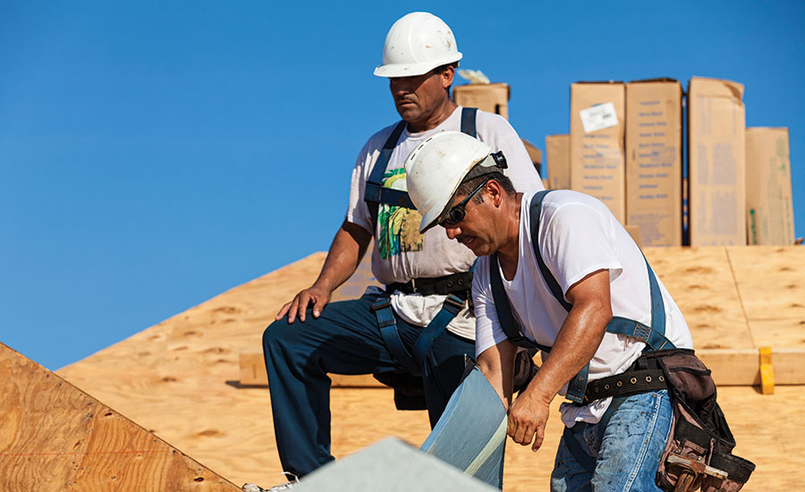 Hispanic, immigrant construction workers