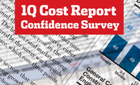 ENR 1Q Cost Report Confidence Survey