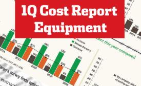 ENR 1Q Cost Report Equipment