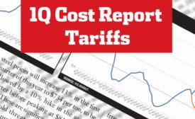 ENR 1Q Cost Report Tariffs