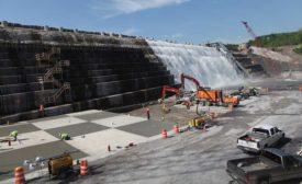 Gilboa Dam's reconstruction