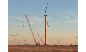 Leeward Renewable Energy's 136-MW Sweetwater 1 and 2 wind farms