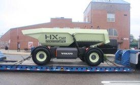 HX02 prototype hauler