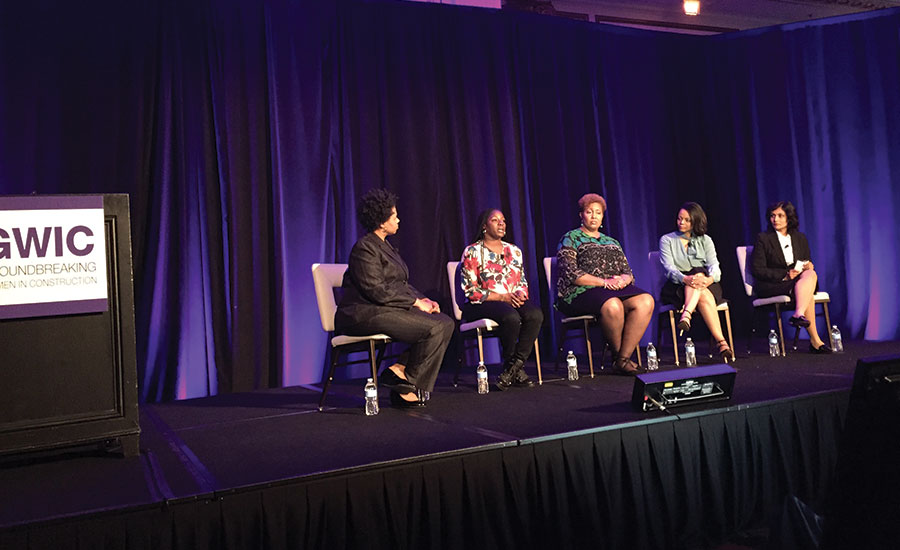 Construction-sector women of color professionals