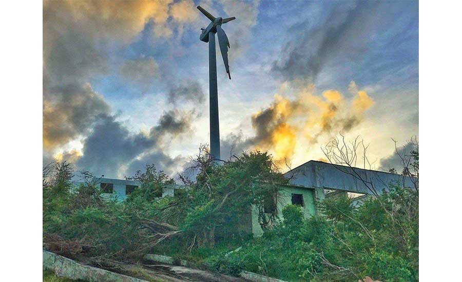 Puerto Rico's electric grid