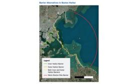 Boston Harbor Seawall Proposal
