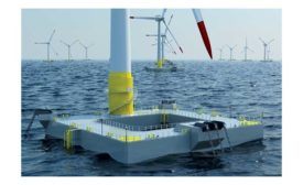 European floating wind turbine