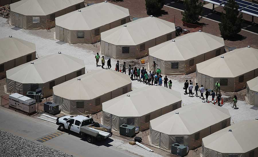 ICE Texas Migrant Housing detention facilities