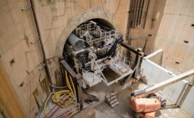 Tunnel-boring machine