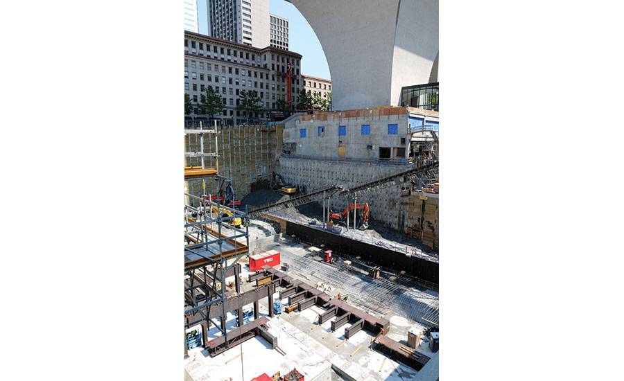 Tricky Excavation Completed for Rainier Square Tower