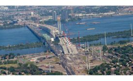Champlain Bridge in Montreal