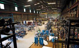 McKinstry's fabrication shop