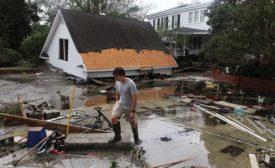 Hurricane Florence damage in New Bern, N.C.