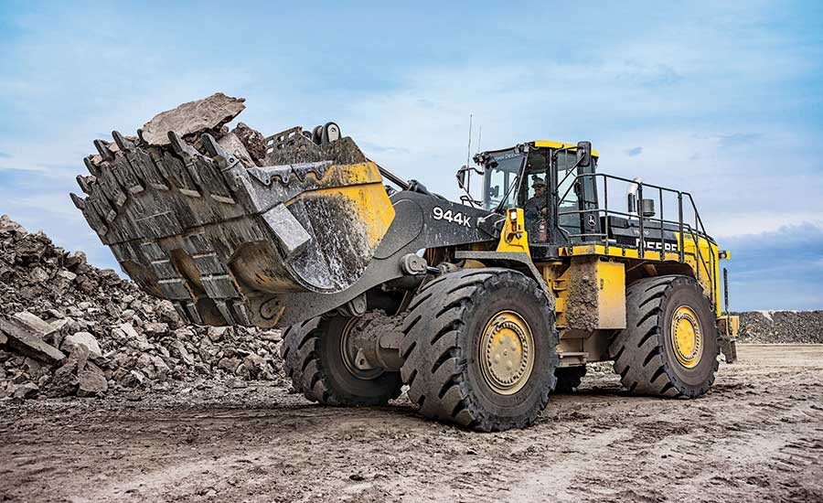 Deere 944K hybrid wheel loader