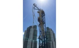Hammerhead tower cranes