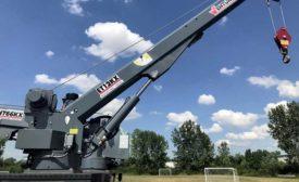 ET12KXP truck-mounted crane