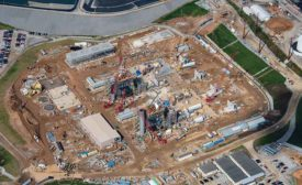 Combined-cycle natural-gas plant