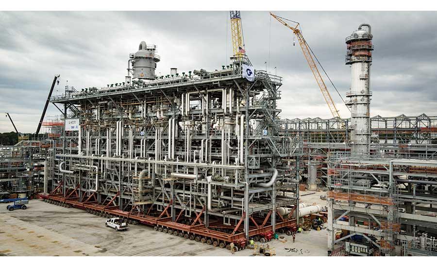 Shale Gas Fuels U S  Chemical Plant Construction | 2018-11-21