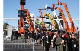 World of Concrete equipment show