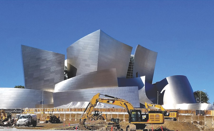 Related Cos. Breaks Ground on Gehry's Grand in Los Angeles