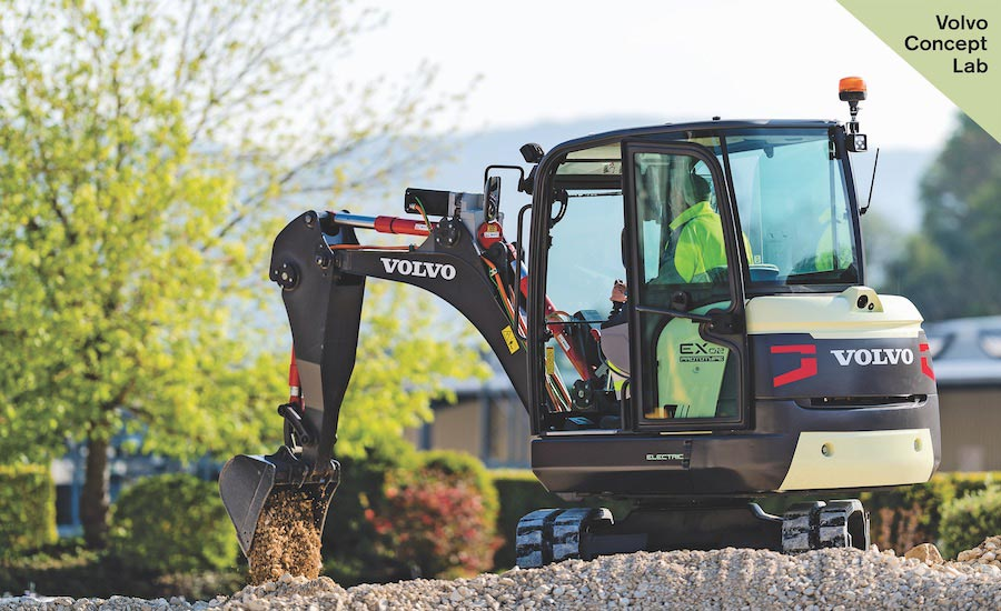 Volvo CE To Go Fully Electric on Smaller Machines in 2020