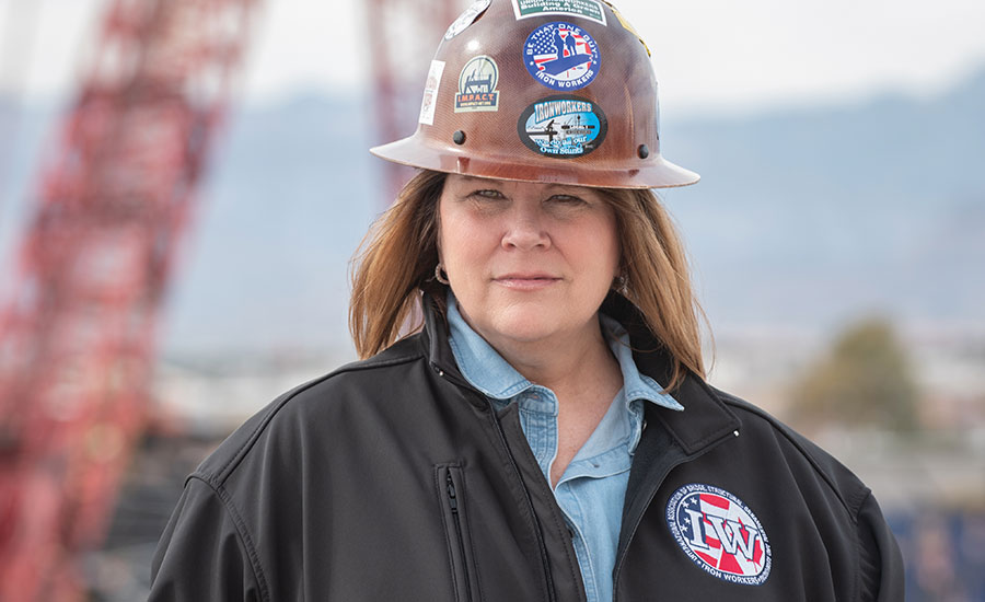 Ironworkers' Vicki O'Leary Earns ENR's 2019 Award of