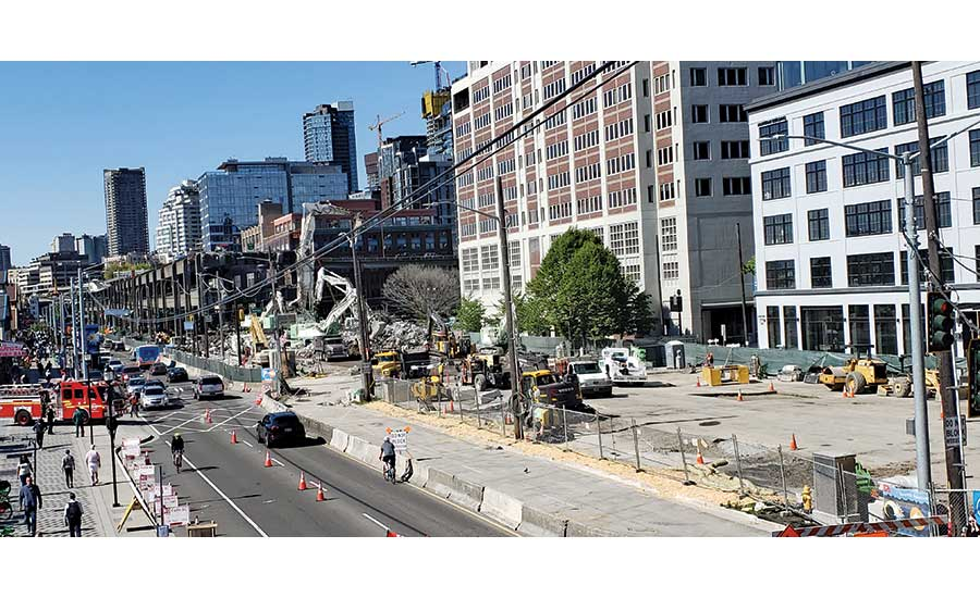 Alaskan Way Viaduct Demolition