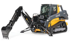 Deere's skid steers and compact track loaders