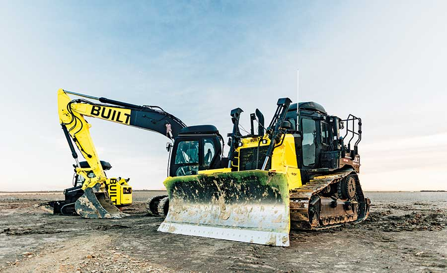 Fully Autonomous Excavators and Dozers Deploy to Site