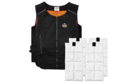 Ergodyne's lightweight phase-change cooling vest